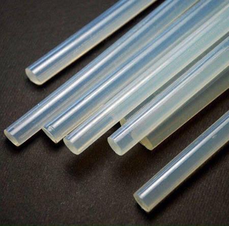 Клей силиконовый в пистолет, диаметром 1,1 см.,  длинной 30 см