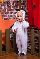 Детский комбинезон для мальчика и девочки Панда. Размер 62 р (3-6 мес)