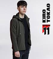 11 Киро Токао | Ветровка мужская 3412 темно-зеленый