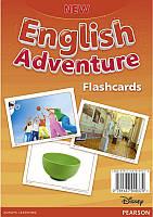 New English Adventure 2 Flashcards