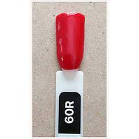 Гель лак Kodi № 60 R Класичний червоний з шиммером, фото 1