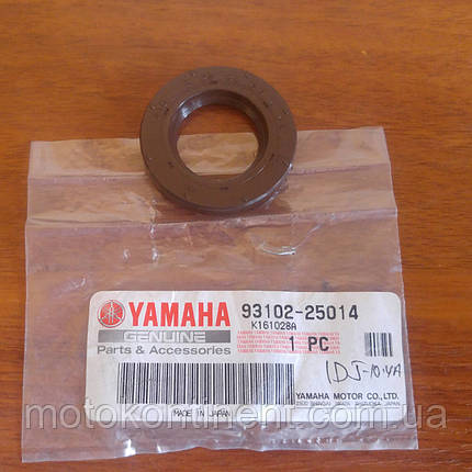 93102-25014 Сальник коленвала нижній 25x45x6.5 YAMAHA F9.9/F15/F20/F25, фото 2