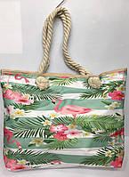 6fed9d69c120 Пляжные сумки Famo Пляжная сумка Паттайя зеленая 45х11 см - 135450. В  наличии. 261грн. Пляжная сумка 2882