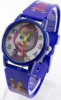 Детские кварцевые наручные часы, синие