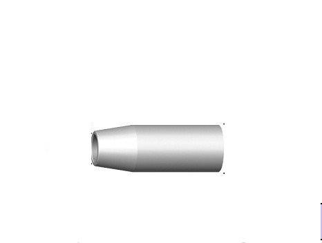 Газовое сопло RF 45, коническое D 16,0 мм 145.D244