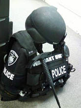 Аксессуары ESP в одном из специальных подразделений полиции в США.
