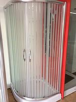 Душевая кабина SunStar SS-502 (S-06), 900х900х1800 мм, полоска (матовая), двери раздвижные