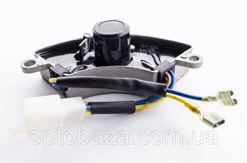 Автоматический регулятор напряжения AVR (дуга) 250V 330mF для генераторов 2 кВт - 3 кВт
