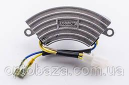 Автоматический регулятор напряжения AVR (дуга) 250V 330mF для генераторов 2 кВт - 3 кВт, фото 2