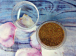 Блестки голографические, золото №103