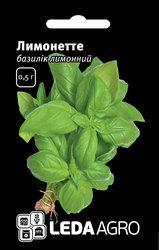 """Семена базилика лимонного Лимонетте, 0,5 гр., ТМ """"ЛедаАгро"""""""