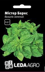 """Семена базилика зеленого Мистер Барнс, 0,5 гр., ТМ """"ЛедаАгро"""""""