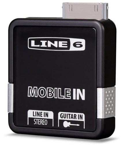 Напольный цифровой педаль эффектов для электрогитар LINE6 MOBILE IN