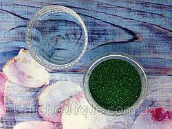 Блестки голографические зеленые,  №107