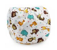 Непромокаемые плавки-подгузники для малышей Мишки (11452)