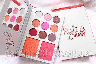Палетка теней и румян Kylie Diary (реплика)