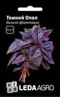 "Семена базилика Темный Опал, 0,5 гр., фиолетового, ТМ ""ЛедаАгро"""