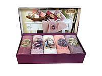 Набор кухонный махровых полотенец в подарочной упаковке 40-60 см