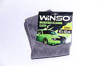 Тряпка микрофибра WINSO (серая) 40*40см