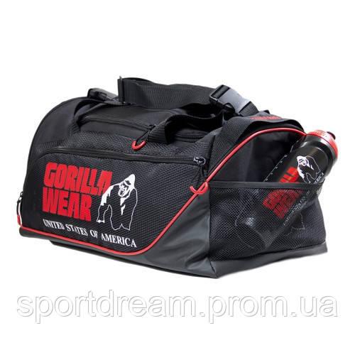 4f7b6c4cc903 Сумка Gorilla Wear Jerome Gym Bag - Black/Red 9911090500 - Интернет магазин  «Sport2u