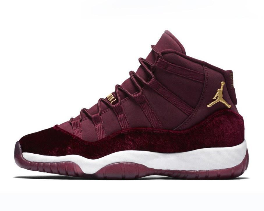 """21467038dff1 Баскетбольные кроссовки Nike Air Jordan 11 Retro """"Heiress"""" Bordo -  Интернет-магазин zakyt"""