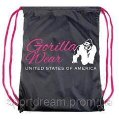 Сумка Gorilla Wear DRAWSTRING BAG BLACK/PINK 9981290600