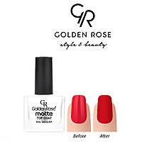 Верхнее матовое покрытие Golden Rose Matte top coat