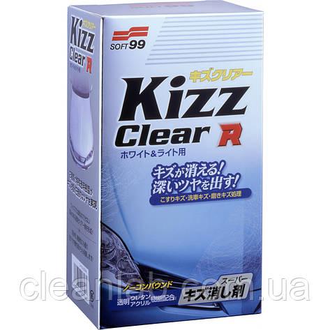 Полироль-антицарапин Soft99 00396 Kizz Clear R for Light — восстановление, для светлых авто, фото 2