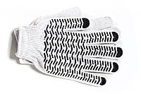 Перчатки с ПВХ-нанесением Волна