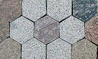 Плитка ФЕМ (фігурні елементи мощення). Токівський граніт