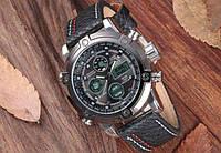 Часы армейские AMST 3022 Silver-Black, Оригинал