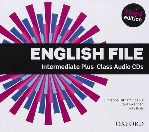 Аудио диски English File 3rd Edition Intermediate Plus Class Audio CDs, фото 2