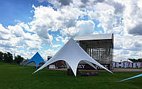 Star shadow Tent 33 ft with delivery for 10 days - white, фото 1