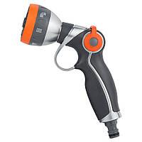 Пистолет распылитель 7-ми режимный курок плавающий (AL+TPR) FLORA 5011394