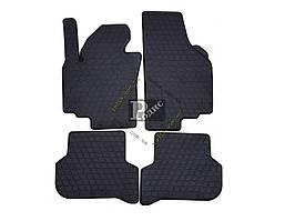 Резиновые коврики Seat Altea XL (09-design 2016) - Ковры в салон Сеат Альтеа ХЛ (2009-н.в)