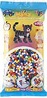 Термомозаика Hama Набор цветных бусин 6000 шт midi, 10 цветов (205-00), фото 1