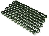 Газонная решетка РГ-60.60.4 пластиковая зелёная