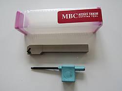 Резец резьбовой для наружной резьбы с механическим креплением SER 12х12х100 H11 MBC