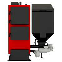 Промышленный твердотопливный котел на пеллетах с автоматической подачей Альтеп DUO Pellet (КТ-2Е-SH) 150 квт, фото 1