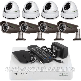 Комплект відеоспостереження Green Vision GV-K-L07 / 08 720P