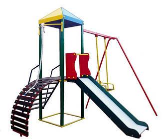 Детские игровые площадки. Игровые комплексы, качели, карусели для улицы от производителя.