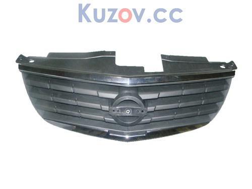 Решетка радиатора Nissan Almera Classic черная-хром (FPS)
