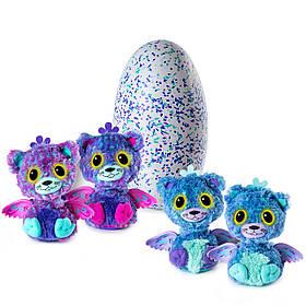 Интерактивные игрушки Хетчималс Двойной сюрприз в яйце Котята Близнецы Hatchimals Surprise Peacat Twin