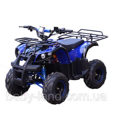 Квадроцикл детский электрический Profi HB-EATV 800 N-4 синий