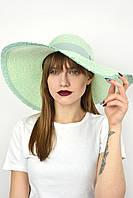 Широкополая шляпа Самуи бирюзовая