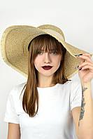Широкополая шляпа Самуи песочная