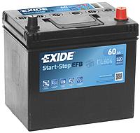Аккумулятор автомобильный Exide EL604, фото 1