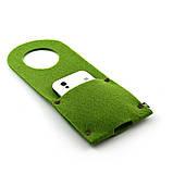 Карман д/зарядки телеф.на заклепке Digital Wool зеленый, фото 2