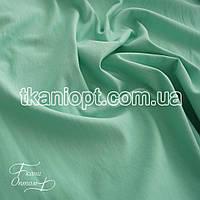 Ткань Трикотаж двунитка Турция (мята зеленая)