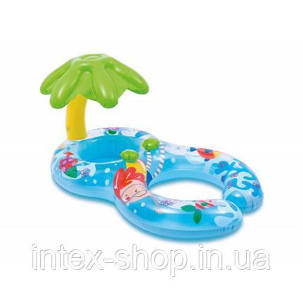 56590 Круг надувной для плавания 117x75 см Мой первый круг, фото 2
